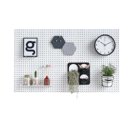 Metal Pegboard Partition