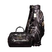 Golf Crocodile Leather Golf Bag