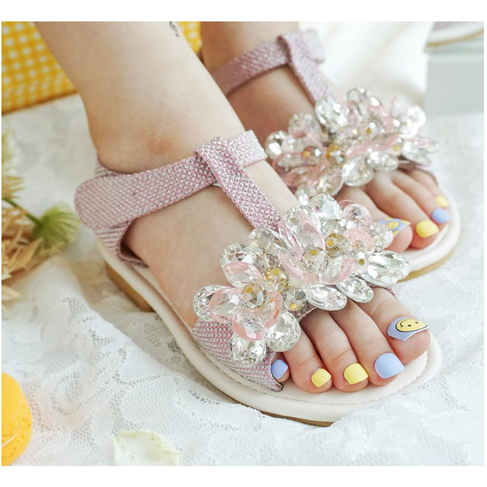 Flower Jewerly Sandal