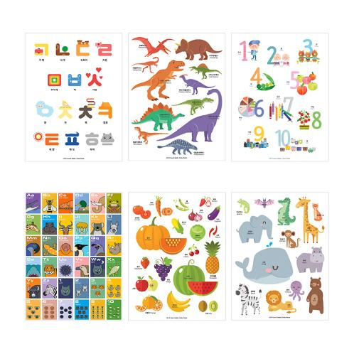Waterproof Poster - Numbers | memo, memo pad, memo sheets, sticker memo, sticky memo, post, vertical memo, horizontal memo