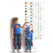The Innovative and Multiple Memo Sheets(Growth Chart - Animal)