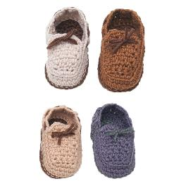 Baby Moccasins CROCHET DIY KIT