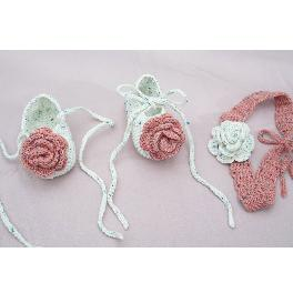 Baby Shoes - Rose