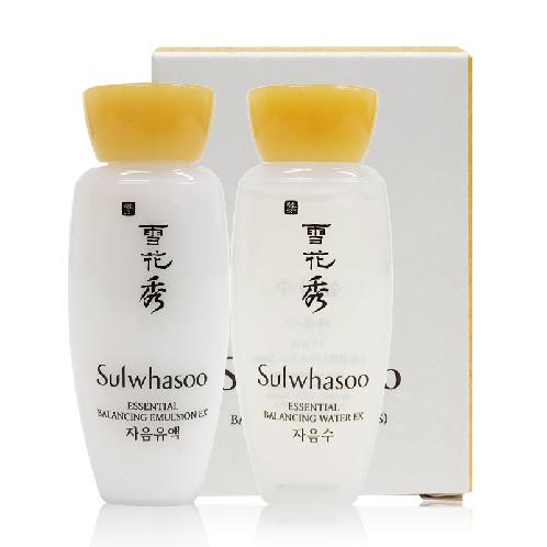 Sulwhasoo Balancing Kit(2Items) | sulwhasoo, balancing, kit, texture, moisture, skin, toner, face, surface, spread, lotion, balance