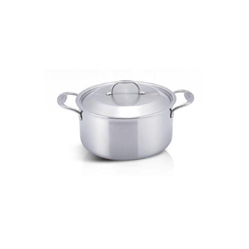 20cm Stock pot | Cook, Kichen, stainless-steel, tri-ply, hanill, collection, signature, five-layer, stay-cool,