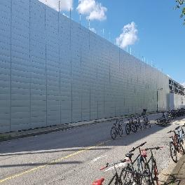 Steel Noise Barrier