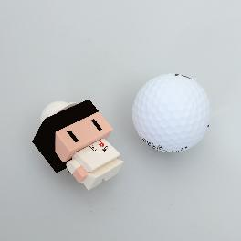 KIKAKUV Custom Golf Ballmarker Toy(4cm)
