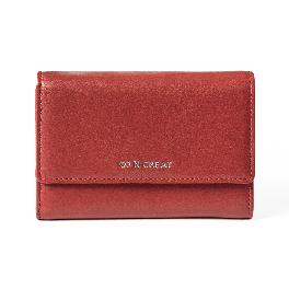 Signature Small Womens Wallet BRICK RED