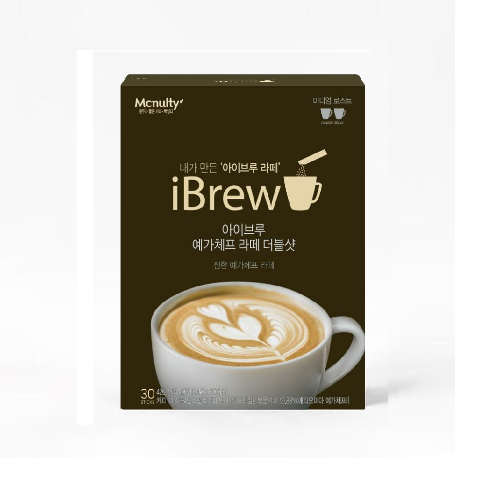 Mcnulty iBrew Yirgacheffe Latte Double Shot (10 Sticks)
