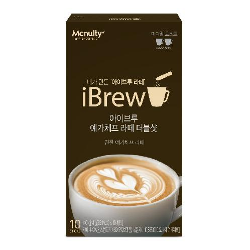 Mcnulty iBrew Yirgacheffe Latte Double Shot (10 Sticks) | instant coffee, latte, yirgacheffe, Double shot, Fresh creamer, Mcnulty
