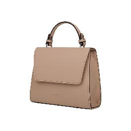 It is an elegant & classic handbag for AMILE (beige, pink, light blue)