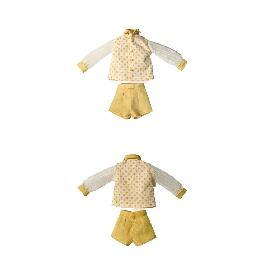 Twinsdoll Tammy Doll Handmade Clothes Set (Blouse & Short Pants)