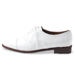 Classic Loafer_1001 white shoes