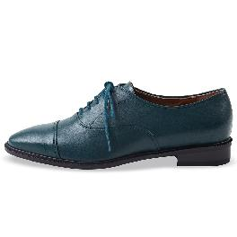 Classic Loafer_1001 green shoes
