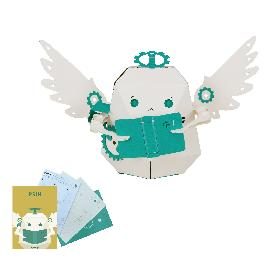 PRIN [Robotry Moving Paper Toy The sophomore angel]