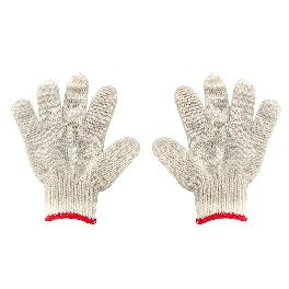 FREE PLAY KIDS WORK GLOVES (white, red, greend  colors)