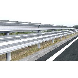 Steel guardrail