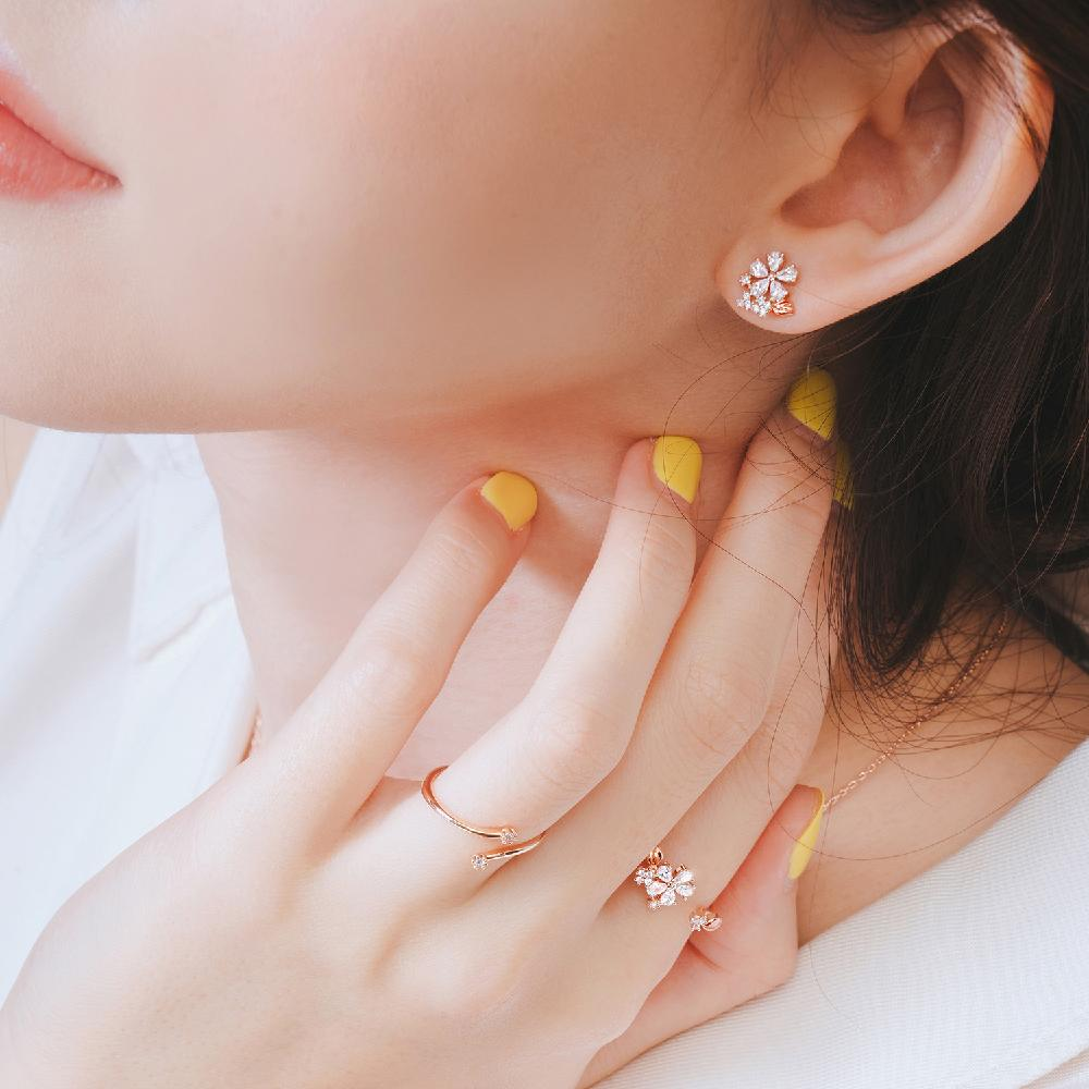 Wingbling Lua's garden earrings 24635
