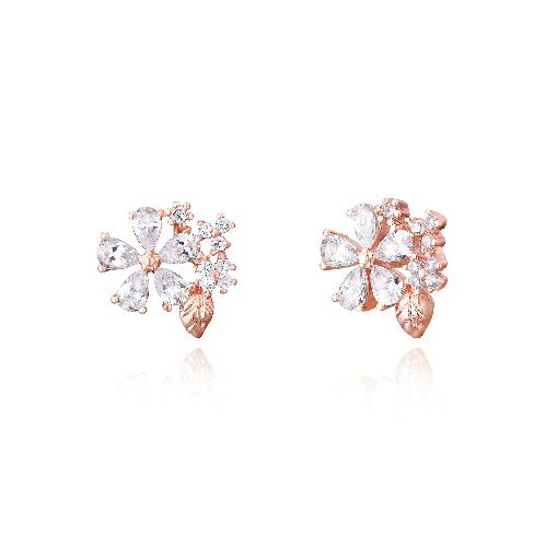Wingbling Lua's garden earrings 24635 | wingbling, Wingbling Lua's garden earrings ,14k rose gold plating,earring
