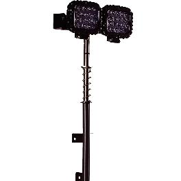 LED Outdoor Work Light with Up-Down ANgle Adjustment Feature