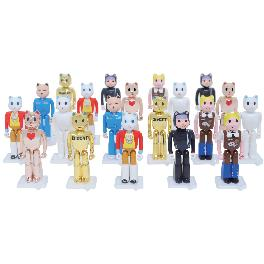 JJ ART TOY DioCAT Random Type Figure -  Box Figure set contains 20 figures