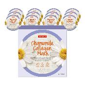 PUREDERM Chamomile Collagen Mask (12masks) / Facial mask/Circle mask/Collagen mask/Vitamin mask/Cham