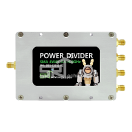 Power Divider, SMA 4Way 0.5~6.0GHz