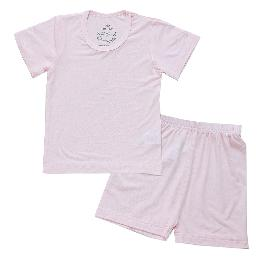 Short Sleeve Modal Pajamas (pink)