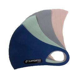 Copper antibacterial neoprene fabric mask