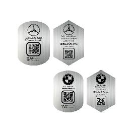 NFC/QR smart & safety parking plate