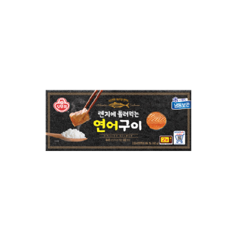 Ottogi Grilled salmon 60g | salmon, easy, frozen, korean, fish